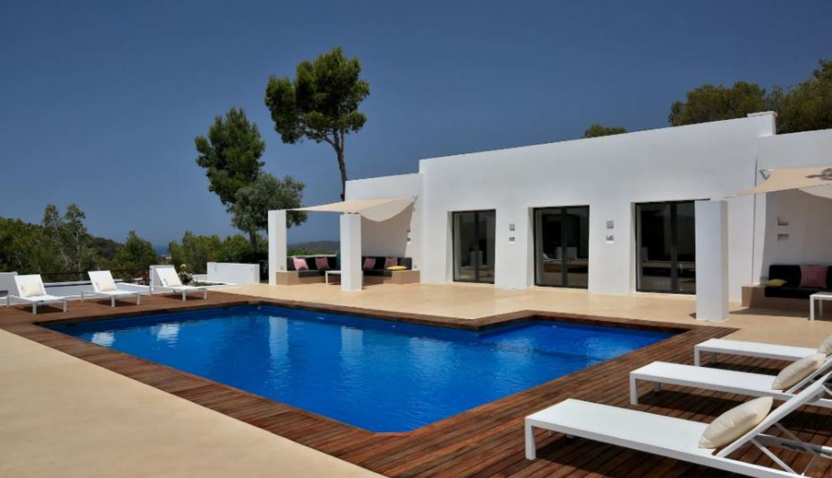 Buena Vista Luxury Villa In Ibiza With Jacuzzi Pool Amp Sea